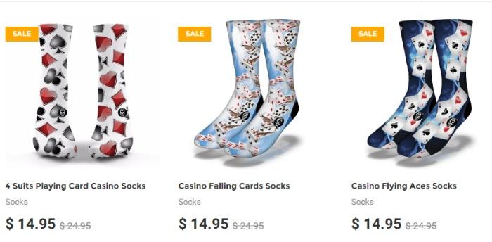 """Tất chân cao cổ thuộc bộ sưu tập """"Casino Collection"""""""