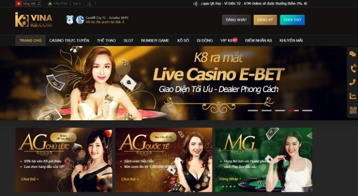 K8 - Địa chỉ đánh bài online đổi thẻ uy tín, chất lượng