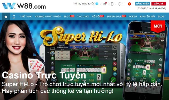 W88 - Sân chơi đánh bài online đổi thẻ lý tưởng