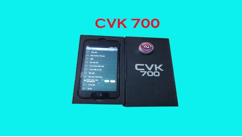 Chiếc máy CVK 700 được trang bị 5 camera HD quét siêu nhanh, siêu chuẩn, soi cực xa và rõ nét